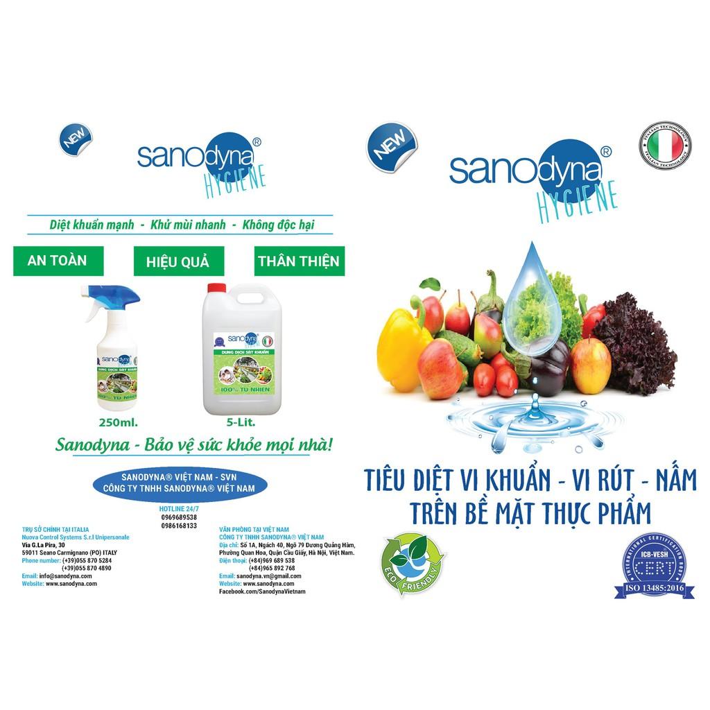 Sanodyna - sát khuẩn rau củ quả