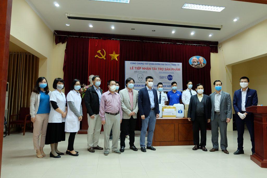 Snaodyna tài trợ đoàn bay 919- Viet Nam Airlines