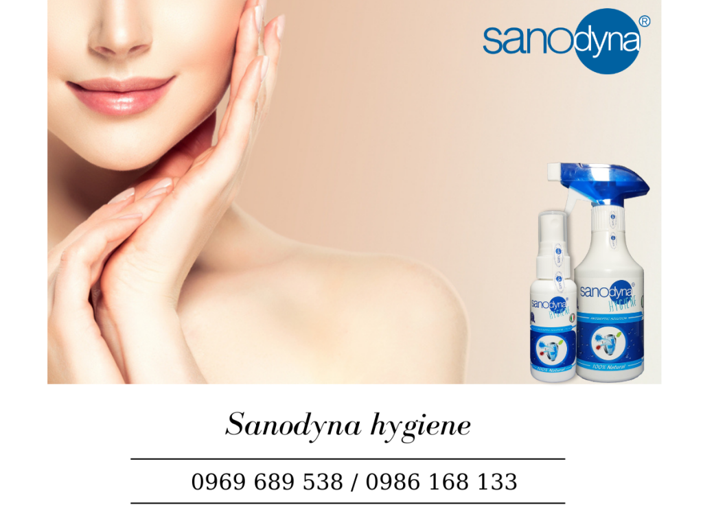 Sanodyna hygiene giảm lão hóa da, giữ cho làn da tươi trẻ