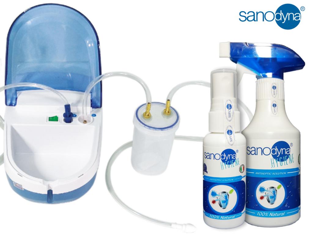 Dung dịch sát khuẩn Sanodyna phòng trị viêm mũi dị ứng