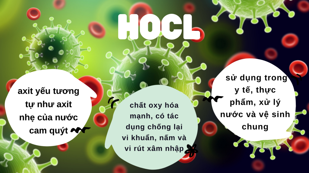 Tổng quan về axit Hocl